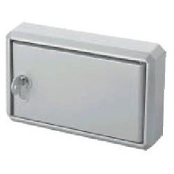 Cofre CLEMSA sin mecanismos 190x130x30 mm. Para puerta enrroble. Modelo. CF110.
