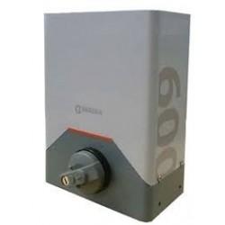 Accionador Corredera RINO monofásico 600 kg. con cuadro incorporado y paro suave, RIS600EC ERREKA
