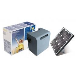 Kit NICE de Alimentación solar para sistemas de automatización Puertas NICE SOLEMYO