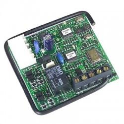 Receptor FAAC RP433 SLH Enchufable 1 Canal. Frecuencia 433Mhz