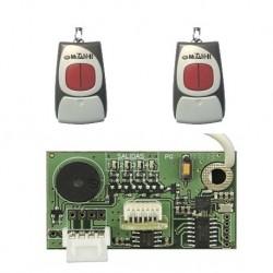 Kit CLEMSA. Incluye 2 Mandos Mutan II N2 433mhz + Receptor RNE 248 enchufable
