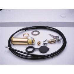 Cerradura CLEMSA para desbloqueo exterior con cable 1,5 m. Modelo CD15