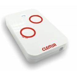 Mando de garaje CLEMSA NT2. MUTAN-II VR. Frecuencia 433 MHz. 2 Canales