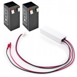 Batería auxiliar ERREKA de Alimentación 24V con cargador (ADO01)