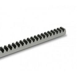 Cremallera CAME CGZ módulo 4 de acero galvanizado 22 x 22 mm