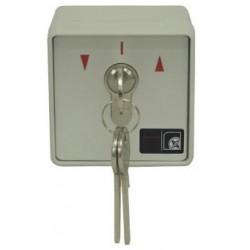 Selector de llave PUJOL Automatismos de 2 contactos