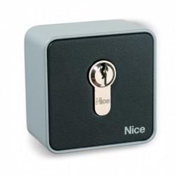 Selector de llave exterior  NICE con cilindro Europeo EKSEU