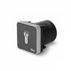 Selector de llave empotrable  NICE con cilindro Europeo EKSIEU