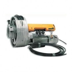 Motor ACM NICE K-500 EF para puertas enrollables de hasta 160kg con electrofreno.