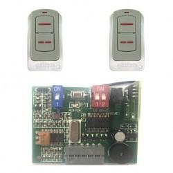 KIT ERREKA Receptor enchufable IRRE2-250 + 2 Mandos IRIS IR02. Frecuencia 433mhz