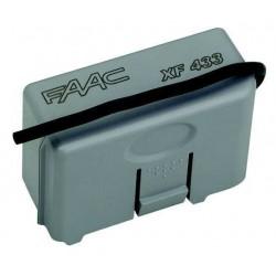 Receptor FAAC XF 433Mhz SLH. Enchufable. Frecuencia 433mhz. OMNIDEC.