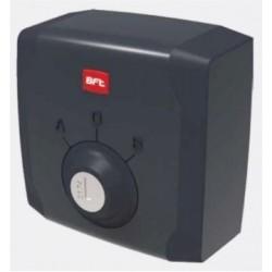 Selector de llave BFT para exterior con doble contacto.