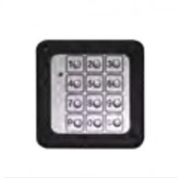 Teclado con caja Metalica PUJOL P9CTRL0110 Vía Radio