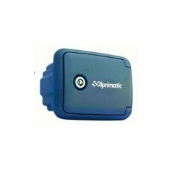 Caja exterior APRIMATIC CS para empotrar con pulsador y desbloqueo