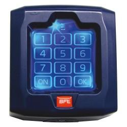 Teclado digital BFT a 433 Mhz con código variable.