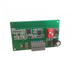 Receptor ERREKA LRRE1 enchufable. Sistema roller code. 30 códigos. Frecuencia 433Mhz