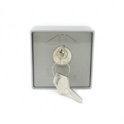 Selector de llave VDS Externo Start/Stop Aluminio. Modelo 198/2