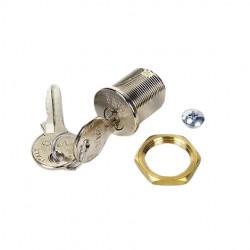 Cerradura de desbloqueo con llave para motores corredera CLEMSA