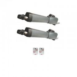 Kit motor CLEMSA AA300 - AA400 batiente para 2 hojas de hasta 4m