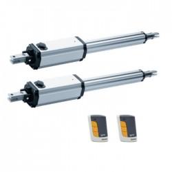 KIT Motor VDS PM1 2 Hojas para Puertas Batientes de hasta 250 Kg