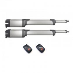KIT motor BFT KUSTOS ULTRA BT A25 - A40. 24V . Para 2 Puertas Batientes de hasta 4m y 500 Kg