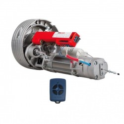KIT motor APRIMATIC RS180EB con freno para puertas enrollables de 180kg